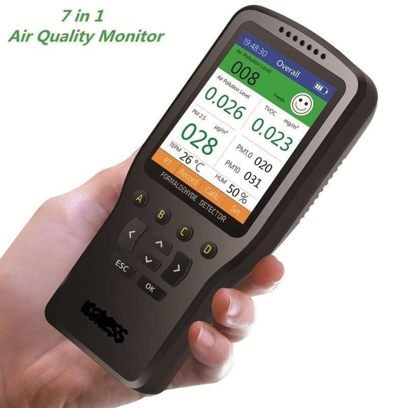 WP6930S Air Quality Detector Laser PM2.5 PM10 PM1.0 Meter In Pakistan