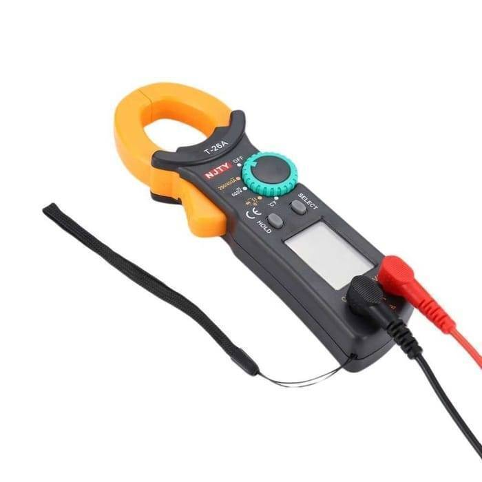 Digital AC DC Clamp Multimeter T 26A