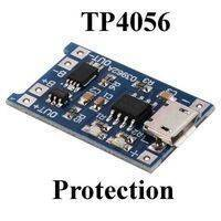 Lithium Battery 18650 Charger Module 1A 3.7V With Battery Protection BMS TP4056