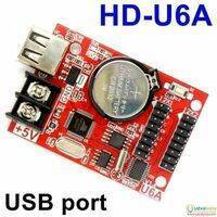 USB Port Single Double Color LED Display Controller Card HD-U6A