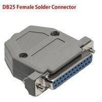DB25 Female Solder D-SUB Connector