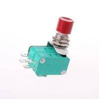 Micro Push Button Limit Switch With 2 Switches Fitting