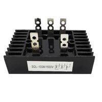 Three Phase Full Bridge Rectifier SQL100A 1600V AC To DC  Diode Rectifier Bridge Module