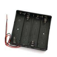 4x 18650 Battery Cell Holder Storage Box Case