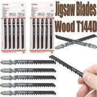 5Pcs Jigsaw Blades Wood Cutter T144D