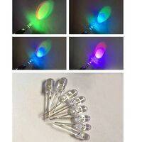 5mm 7 Color RGB Automatic Rainbow Fast Flash LED