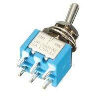 6 Pin  On Off On Toggle Switch