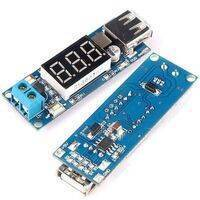 DC To DC 2A USB Charger 4.5-40V To 5V Step-down Buck Converter Voltmeter Module