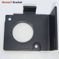 NEMA17 Stepper Motor Bracket L Shaped Steel Mounting Fitting For 3D Printers And CNC Machines