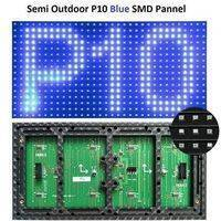 P10 Blue SMD LED Display Panel Semi Outdoor LED Module