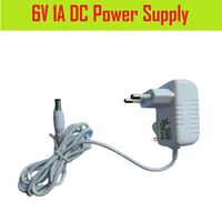 6V 1A DC Power Supply Adapter Charger