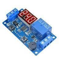 12v Digital LED Timer Module Adjustable Timer Relay Time Control Switch Trigger Timing Board