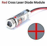5mW 650nm Red Cross Line Laser Module Adjustable  Focus Laser Diode
