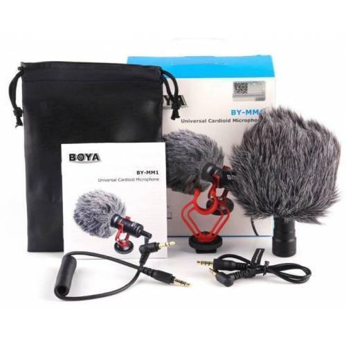 Mic BOYA BY-MM1 Professional Microphone Best For Vlog  Tiktok For Cameras And Phone