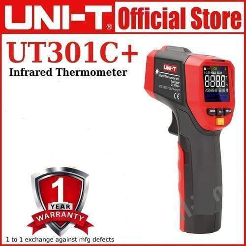 UT301C+ Digital Infrared Laser Thermometer UNI T