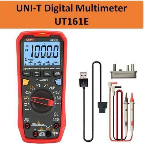 UNI T Handheld True RMS Digital Multimeter UT161E
