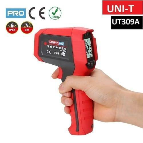 UNI T Professional Non Contact Infrared Thermometer UT309A IR Temperature Gun