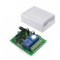 2 Channel RF Wireless System Remote Control Switch Module with Shell 12V 10A 315MHz for Smart Home