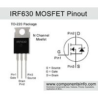 IRF630 N Channel Mosfet