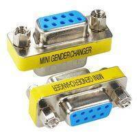 RS232 DB9 Female To Female Changer converter 9 Pin