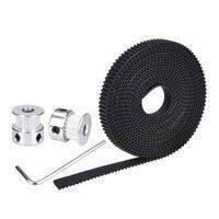 20 Teeth 8mm GT2 Pulley With 2 Meter Timing Belt For CNC 3D Printers