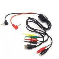 4 line Kabel Power Supply Cable Multi Function Adjustable Mobile Phone Repair Line Power Cable