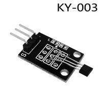 KY 003 Hall Magnetic Force Sensor Module For Arduino Hall Effect