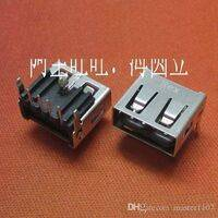 USB 2.0 Type A Female Socket Connector Port 4-Pin Right Angle Adapter