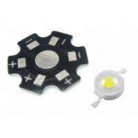 1W High Power White SMD LED with Heatsink