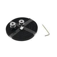 2 Meter GT2 Timing Belt with 2Pcs Of 5mm GT2 Pulley 16 Teeth