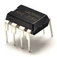LM386 Audio Power Amplifier in Pakistan