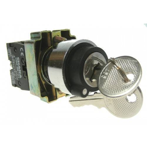 ZB2-BE101C 2 Position Normally Open Normally Closed key operated Rotary Switch