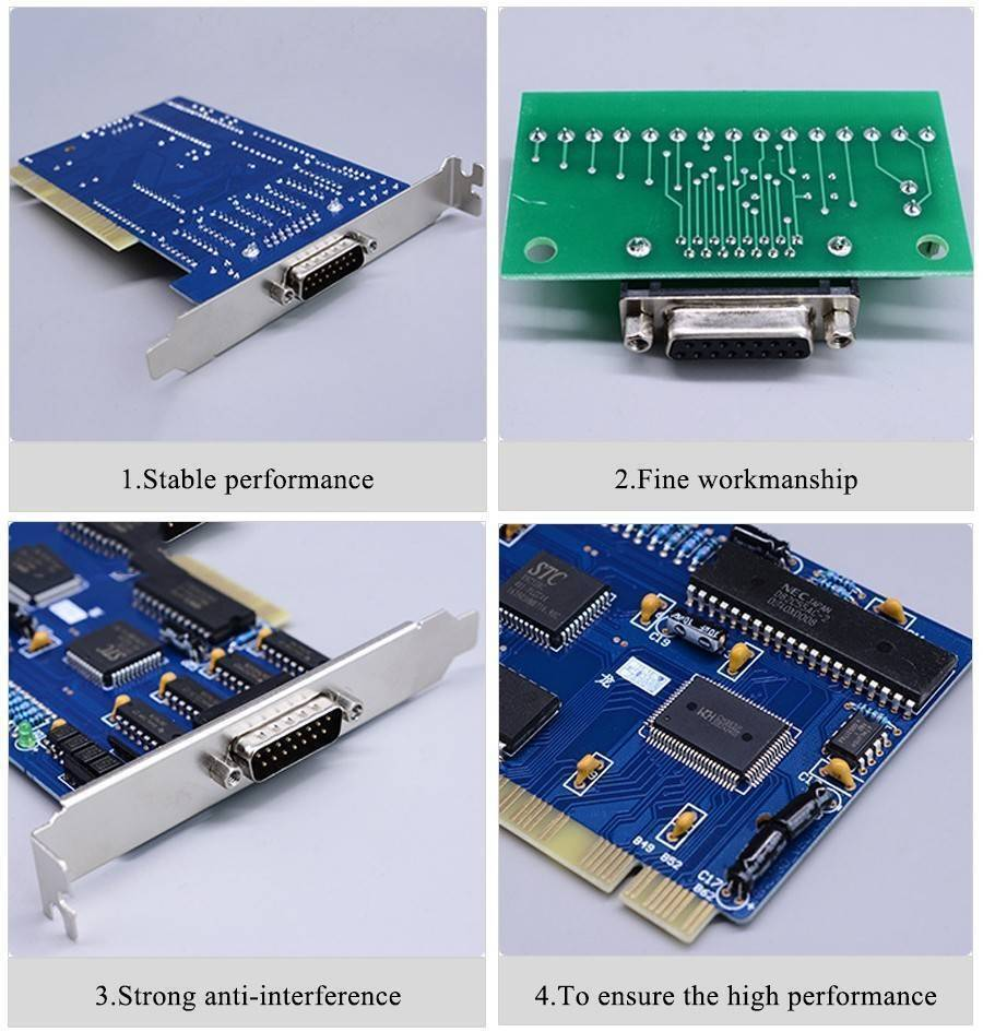 Private: CNC Control board NC Studio 3 Axis PCI motion control card for CNC machine CNC Interface Adapter Breakout board
