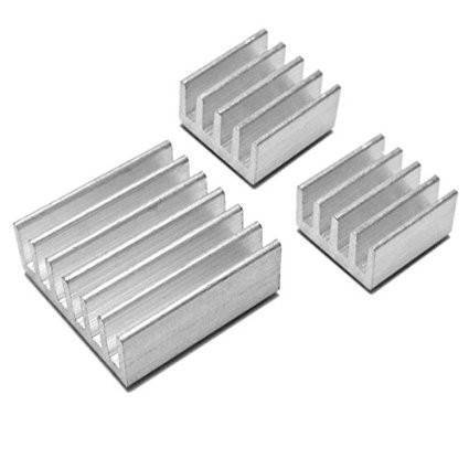 Raspberry Pi 3 Heatsink Cooler Pure Aluminum