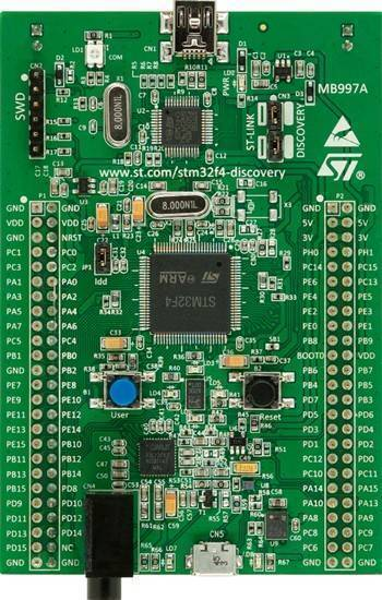 STM32f4 STM32f407 Discovery Kit Arm Cortex-M4 Development Board In Pakistan