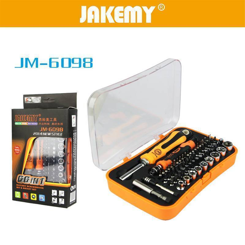 Jakemy JM-6098 66 IN 1 Professional Screwdriver Repair Tool Set