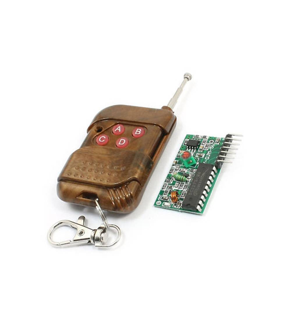 4 channel NIC2262/2272 wireless remote control key