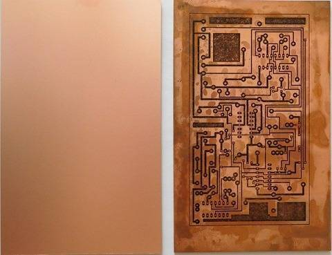 6X4 Inch Copper Sheet One Sided Clad Plate Laminate PCB Board