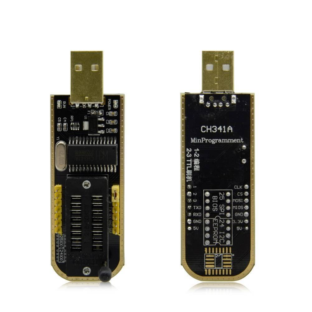 CH341A 24 25 Series EEPROM Flash BIOS USB Programmer