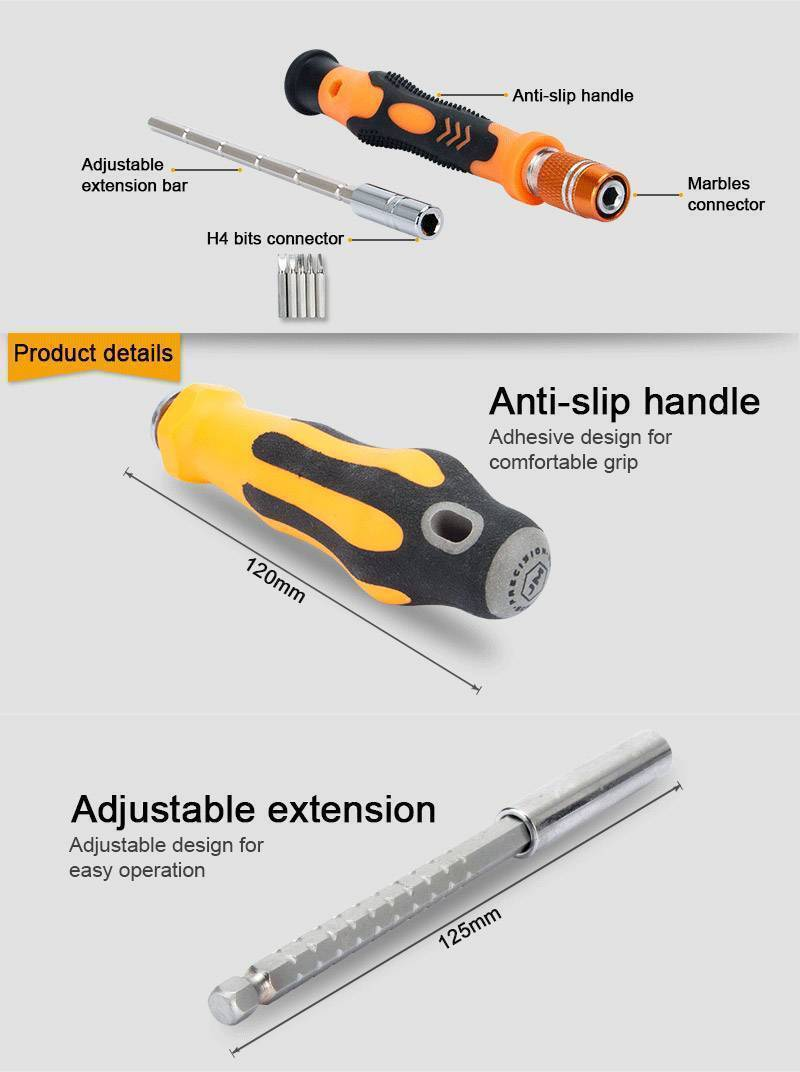 JM-6110 71 in 1 Screwdriver Ratchet Hand-tools Suite Furniture Computer Electrical maintenance Tools
