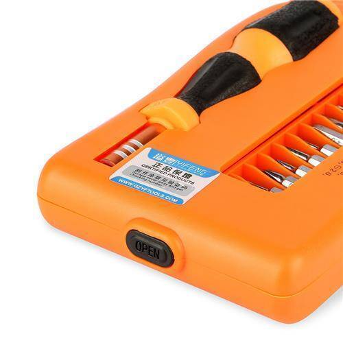 JM-8105 27 in 1 Screwdriver Ratchet Hand-tools Suite Furniture Computer Electrical maintenance Tools