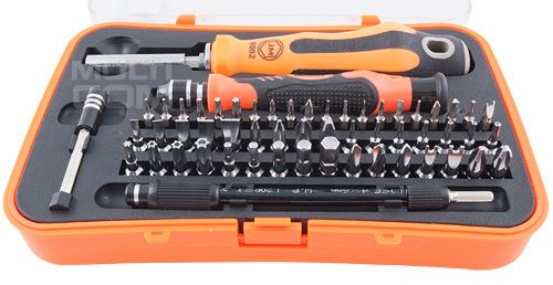 JM-6092A 57 in 1 Multi-functional Screwdriver Hand Tool Set Household