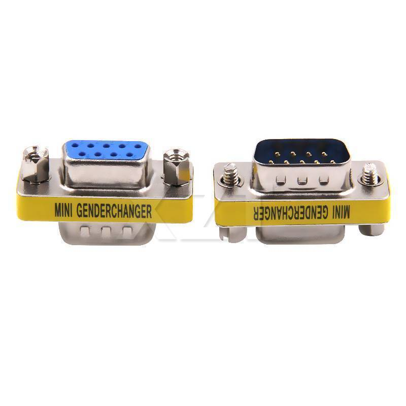 RS232 DB9 Male to Female Changer converter 9 Pin