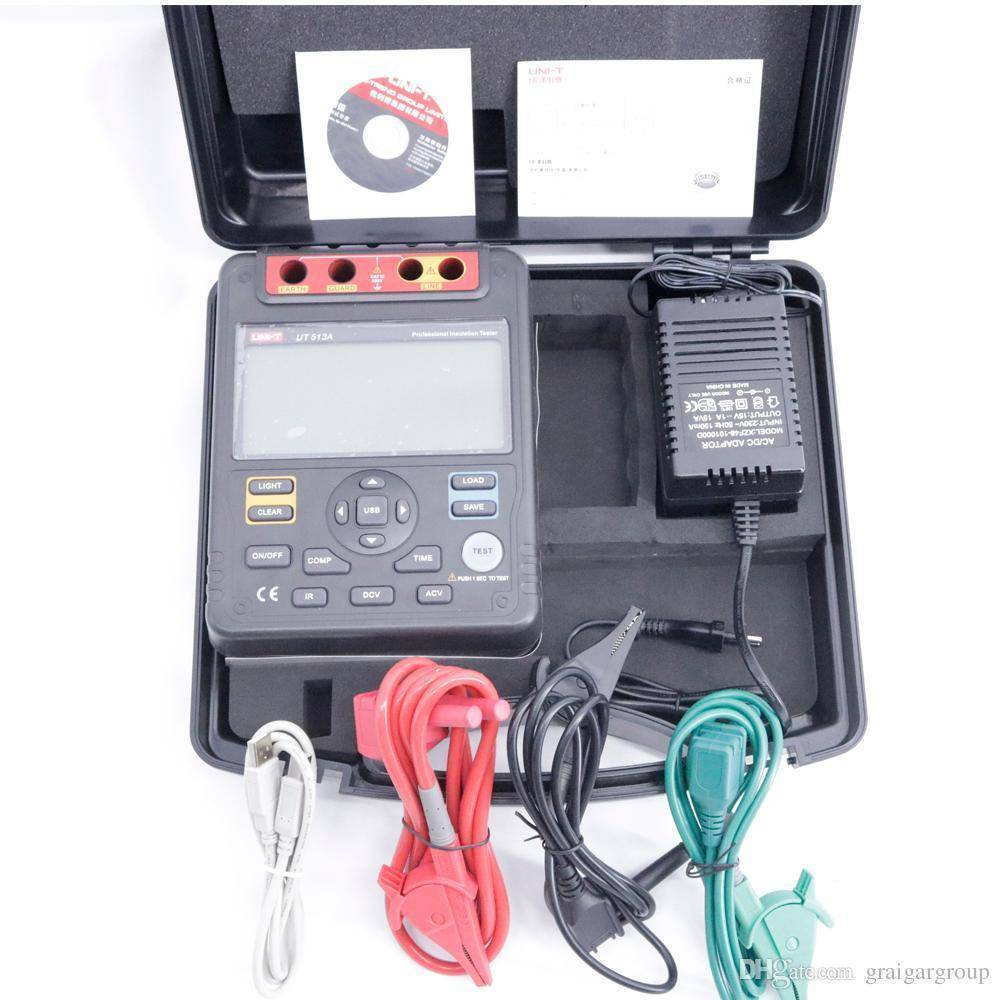 UT 513A UT-513A UT513A Insulation Resistance Tester In Pakistan