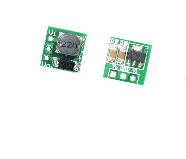 0.9 5V To 5V DC-DC Step-Up Power Module Voltage Boost Converter Board 1.5V 1.8V 2.5V 3V 3.3V 3.7V 4.2V To 5V