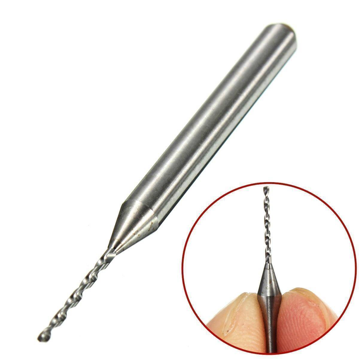 1.0mm Carbide Steel PCB Drill CNC Jewelry Micro Engraving Drill Bit
