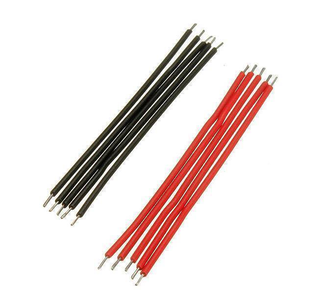Vero Board Breadboard Jumper Cable Dupont Wire Electronic Wires Black Red Color In Pakistan