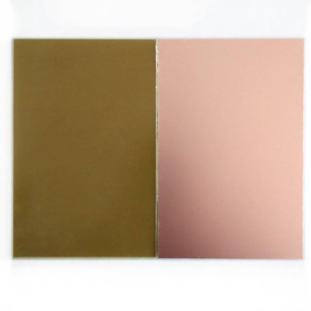 6 Inch x 4 Inch Fiber Glass Copper sheet One Sided Clad Plate Laminate PCB Board