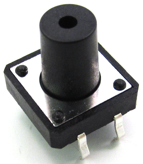 8mm knob 4 pin Basic Digital I/O: Slide Switch, Push Button