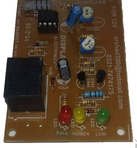 12v Battery Protection Auto Cut Off Circuit